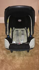 Britax Car Seat & Cover from Birth
