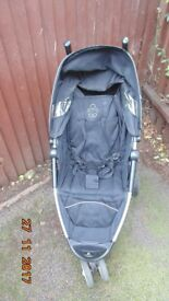 Graco 3 Wheels Pushchair/Pram/Stroller Rain Cover Included