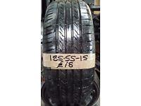 185-55-15 Landsail 82V 5.5mm Part Worn Tyre