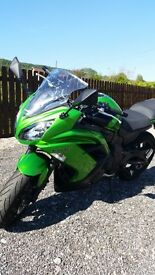KAWASAKI ER6F - GREEN - EXCELLENT CONDITION