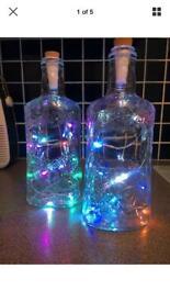 Bottle lights.