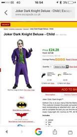Joker Halloween age 5-7