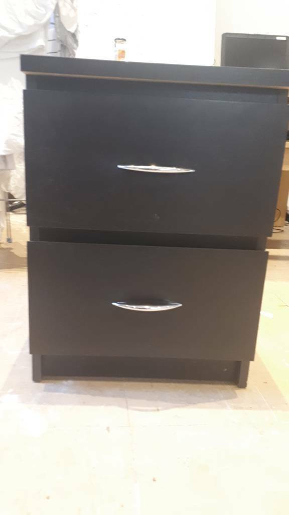 Awe Inspiring Black Sliding Bed Side Table Ikea Malm Or Small Chest In Redland Bristol Gumtree Download Free Architecture Designs Crovemadebymaigaardcom