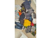 Baby boy bundle from 9 months to 4yrs. Includes toys and clothes