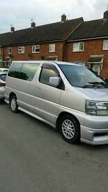 Nissan elgrand px/ swap why