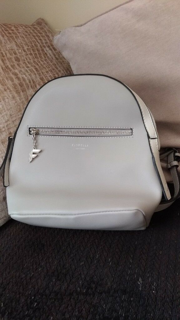 fiorelli ladies backpack course cream brand new