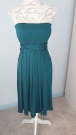 Multiway bodice skater bridesmaid /occasion/Evening dress x 4