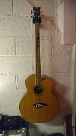Dean Acoustic Bass with tuner, pick up eq