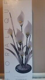 "Beautiful Floralique 20"" Acrylic Calla Lily Floral Arrangement"