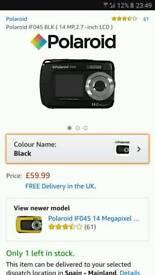 Waterproof camera Polaroid