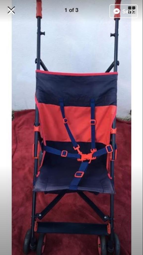 Holiday Lightweight Buggy Stroller Pushchair Pram