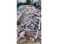 Broken Concrete - approx. 5 tonnes (good for hardcore, shed bases etc.)