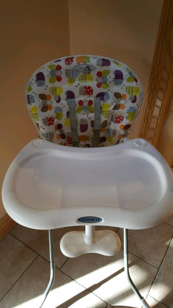 Graco teatime high chair