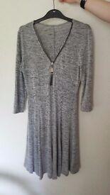 New Look Grey Dress, size 10