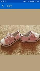 Ralph Lauren Toddler size 4 shoes