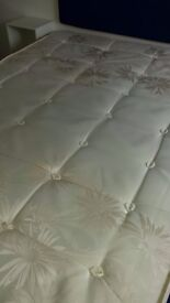 Double mattress £40 standard four foot six perfect unmarked condition priced to sell Swiss Cottage