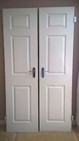 3 panal internal moulded doors 4 for sale 533mm x 1966mm £20 each