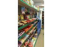 Shop display fridge and shelves for sale