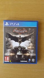 PS4 Batman Arkham Knight in Excellent Condition with Case and Maunal