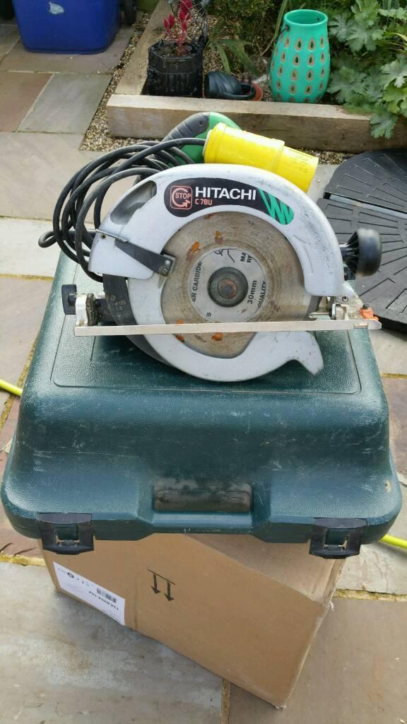 Hitachi circular saw 110v