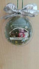 Yankee Candle Christmas Bauble