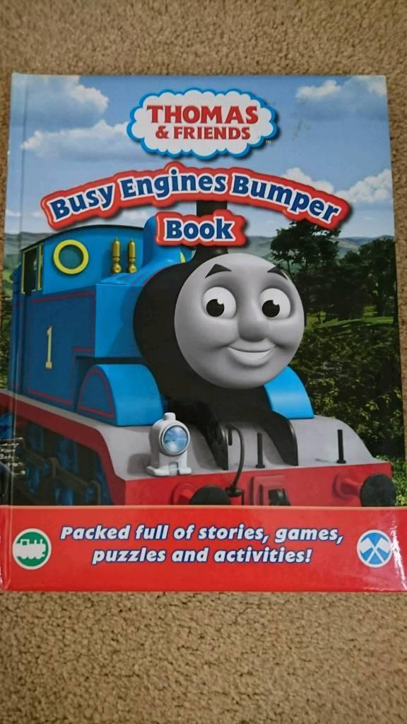 Thomas activity book
