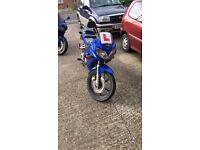 Spares or repairs Honda CBR125R 05