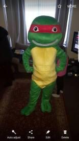 Tmnt turtle mascot