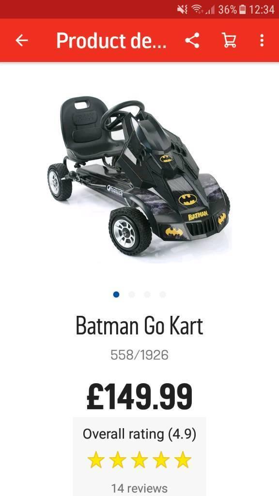 Batman go kart..