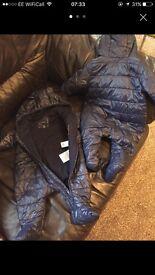 Baby Gap snow suits x2