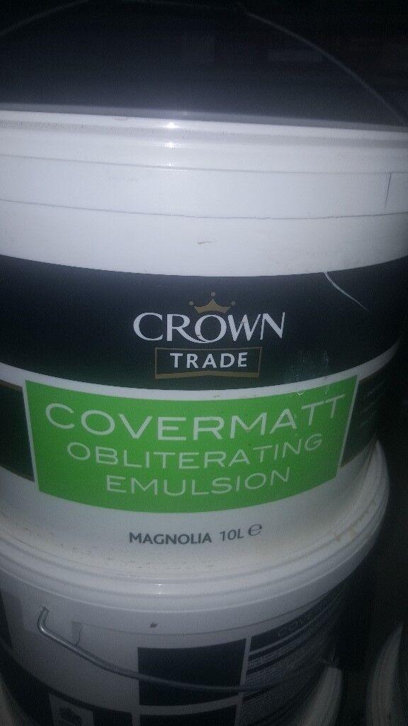 Crown magnolia paint 9 x 10l pots