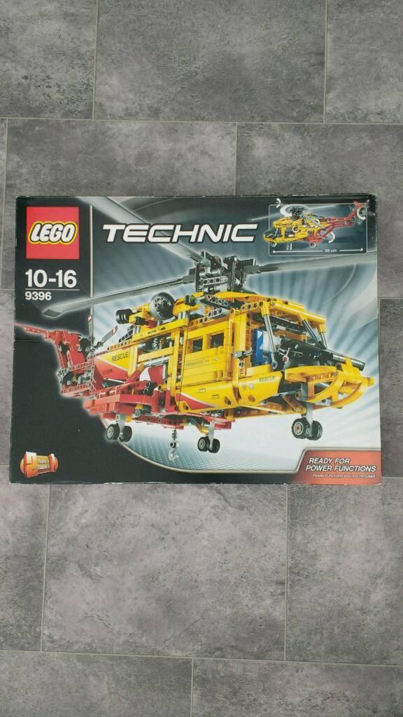 Lego Technic Helicopter 9396, £60 ono