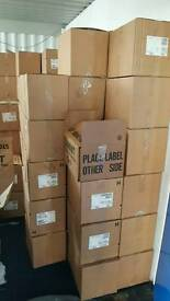 Pallet of mixed media games movies cds
