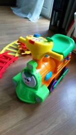 Preschool ride on with tracks