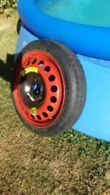 "Meriva b space saver 16"" wheel"
