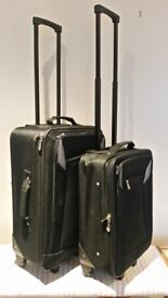 Two small suitcases
