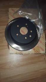 GENIUES SOLID Lexus is250 rear brake disks