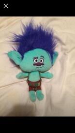 Trolls soft toy