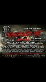 Hard Rock Hell tickets x4 sold out event