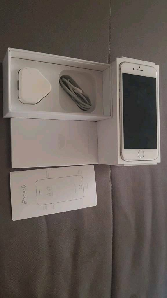 IPHONE 6 16GB WHITE IN BOX