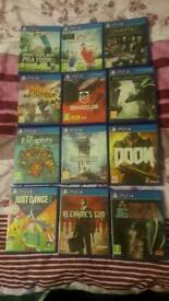 Ps4 games for sale Check out my add got prices/ all clean and all working/ cash or swaps