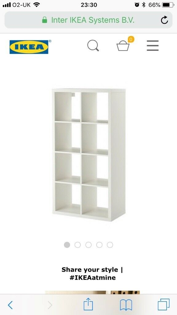 Ikea Book Shelf Used Good Condition