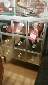 New mirrored drawer unit