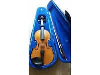 Klotz Violin with Bow and Case