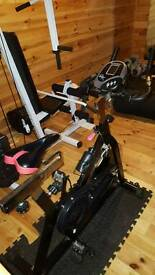 Spin cycling machine gym equitment exercise bike