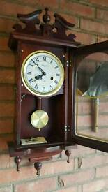 Chiming wind up clock