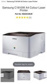 Samsung Lazer Colour Wireless/Wifi Printer: model C1810W