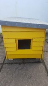 Wooden/Insulated Dog Kennel