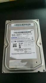 "Samsung 3.5"" 400GB hard drive. SATA 7200rpm"