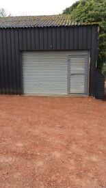 garage / workshop unit to rent storage unit
